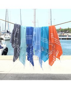 Alara Turkish Pestemal Beach Towel