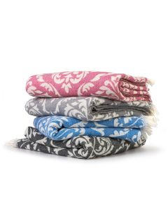 Damask Delight Pestemal Beach Towels