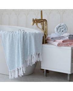 Ephesus Pestemal Towel - Polka Dot Design