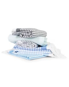 Soft Stripes Pestemal Beach Towels
